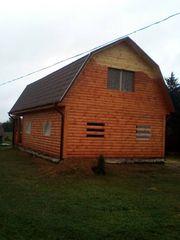 Строим Дома из бруса сруб 6х6м Влад в Городее